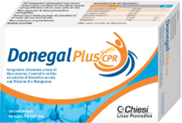 DONEGAL PLUS CPR 30 COMPRESSE - Zfarmacia