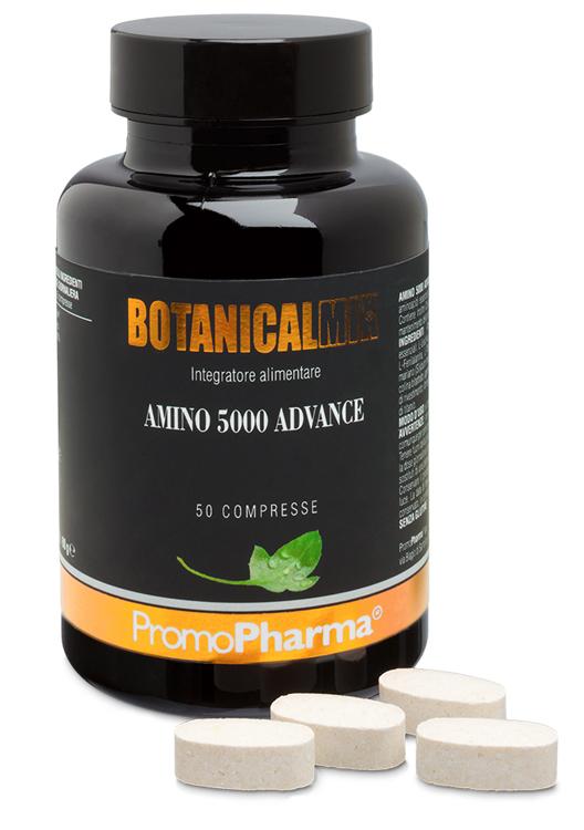 AMINO 5000 ADVANCE BOTANICAL MIX 50 COMPRESSE - Farmacia Centrale Dr. Monteleone Adriano