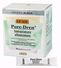 GUAM GRUPPO ALGUA PURE-DREN 30 BUSTINE DA 12 ML - Parafarmaciaigiardini.it