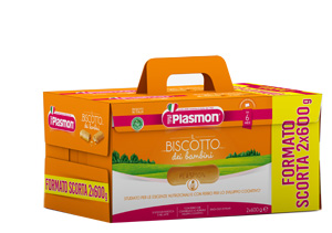 PLASMON BISCOTTO 2 X 600 G - farmaciafalquigolfoparadiso.it