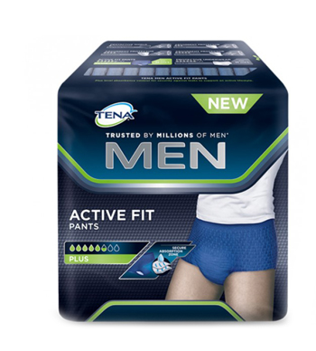 PULL UP UOMO TENA MEN PANTS ACTIVE FIT L 8 PEZZI - La farmacia digitale