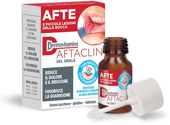 DERMOVITAMINA AFTACLIN GEL 7 ML - La farmacia digitale