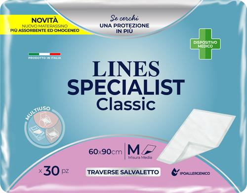 TRAVERSA LINES SPECIALIST CLASSIC TRAVERSA 60 X 90 CM 30 PEZZI - Zfarmacia