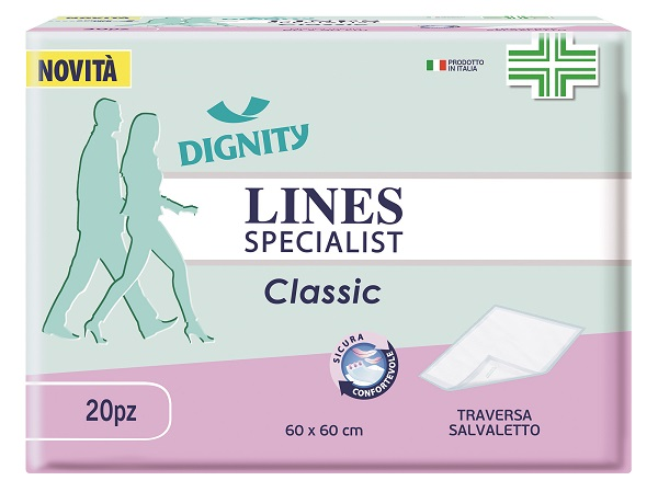 TRAVERSA LINES SPECIALIST CLASSIC TRAVERSA 60 X 60 CM 20 PEZZI - latuafarmaciaonline.it