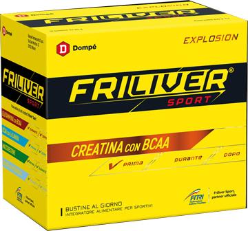 Friliver Sport Explosion Creatina con BCAA 12 Bustine - Arcafarma.it