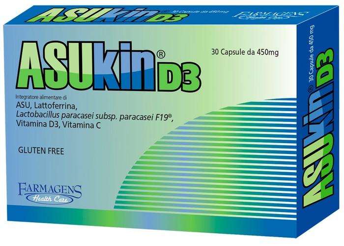 ASUKIN D3 30 CAPSULE - Farmaseller