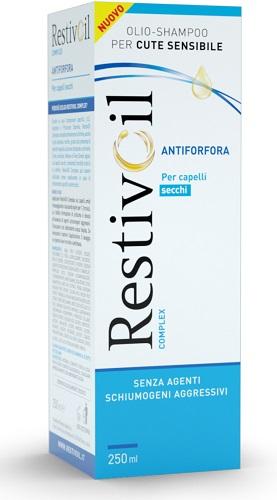 RESTIVOIL COMPLEX ANTIFORFORA CAPELLI SECCHI 250 ML - Farmacento