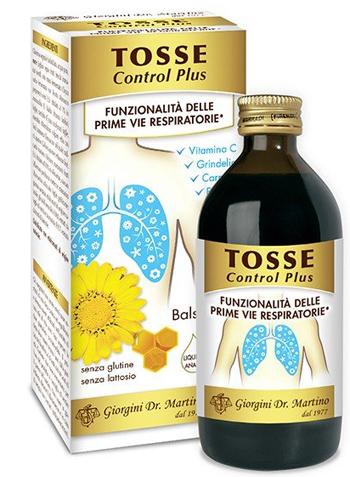 TOSSE CONTROL PLUS 200 ML LIQUIDO ANALCOLICO - Farmacia Centrale Dr. Monteleone Adriano
