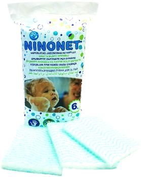 NINONET SPUGNETTA SAPONATA BIMBI 6 PEZZI - Spacefarma.it