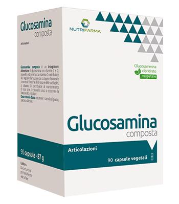 GLUCOSAMINA COMPOSTA VEGETALE 90 COMPRESSE - Farmacia Massaro