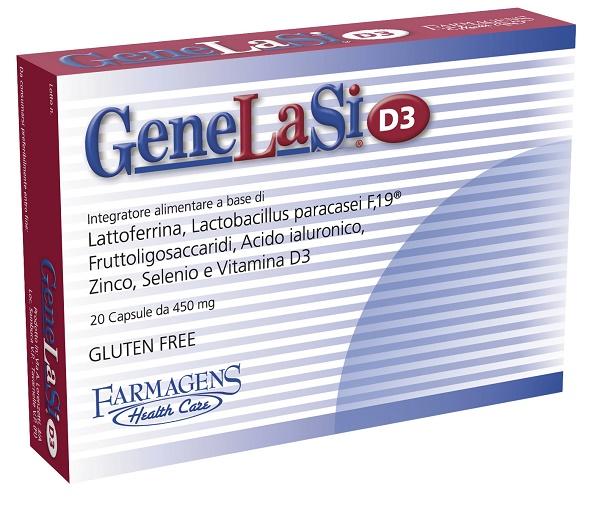 GENELASI D3 20 CAPSULE 450 MG - Farmaseller