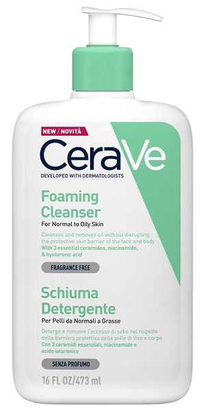 CERAVE SCHIUMA DETERGENTE VISO 473 ML - Spacefarma.it
