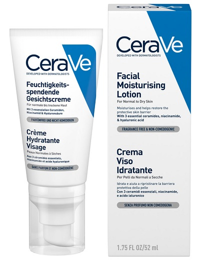 CERAVE CREMA VISO IDRATANTE 50 ML - Spacefarma.it