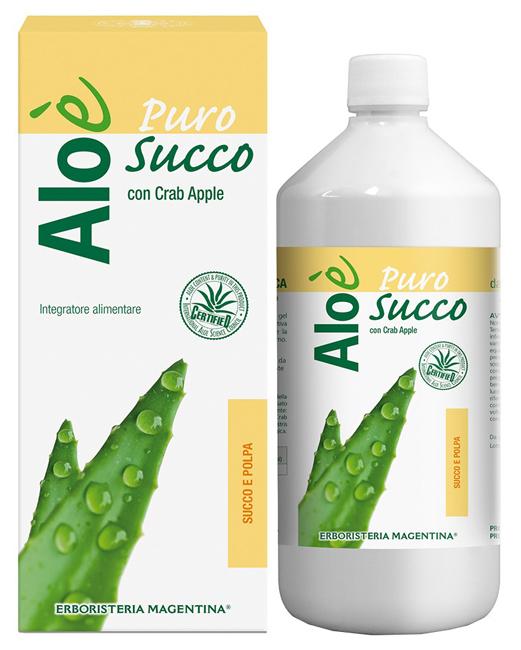 ALOE' ALOE SUCCO E POLPA BIO 1 LITRO - Farmacia Centrale Dr. Monteleone Adriano