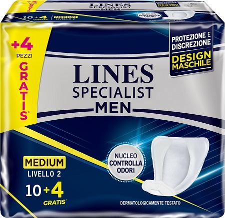 LINES SPECIALIST MEN LIVELLO 2 14 PEZZI - farmaciadeglispeziali.it