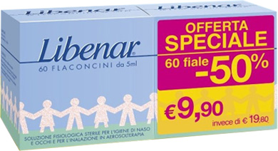 FIALE MONODOSE LIBENAR 60 PEZZI DA 5 ML - Farmapage.it