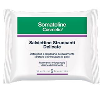 SOMATOLINE COSMETIC VISO SALVIETTE STRUCCANTI OFFERTA SPECIALE 20 PEZZI - Farmaseller