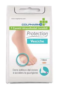 CEROTTI IDROCOLLOIDALI PROTECTION VESCICHE MEDI 7 PEZZI - Farmafamily.it