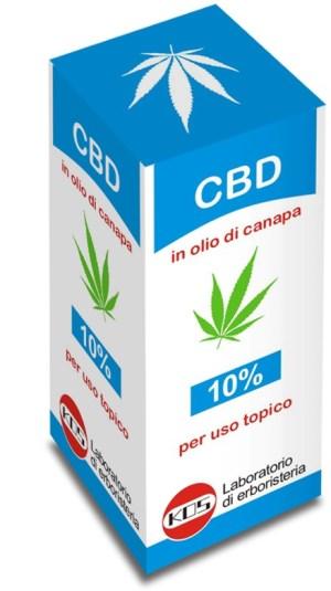 CBD OLIO 10% 10 ML