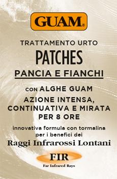GUAM PATCHES TRATTAMENTO URTO PANCIA E FIANCHI 8 PEZZI - Farmacia Centrale Dr. Monteleone Adriano