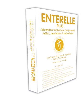 BROMATECH ENTERELLE PLUS 12 CAPSULE - Farmastar.it