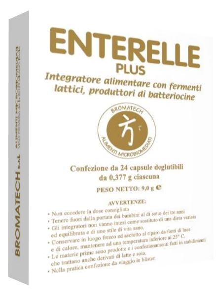 ENTERELLE PLUS 24 CAPSULE - Farmacia 33