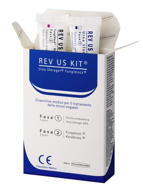 REV US KIT SMALTO FASE 1 15 ML + SMALTO FASE 2 15 ML - Farmacia Massaro