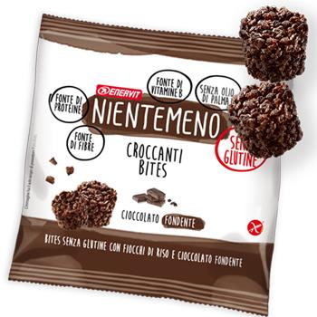 Nientemeno Bites Cioccolato Fondente senza Glutine 5 Buste - Arcafarma.it