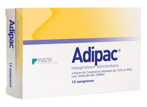 Adipac Integratore Drenante 15 Compresse