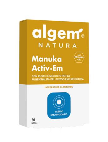 ALGEM MANUKA ACTIV EM 30 CAPSULE - Farmaseller