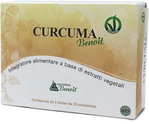 CURCUMA BENOIT 60 COMPRESSE DA 500 MG - Farmabaleno