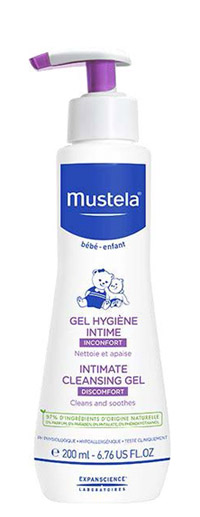 MUSTELA GEL DETERGENTE INTIMO 200 ML - Farmajoy