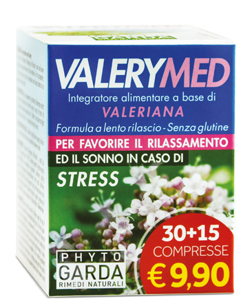 VALERYMED RILASCIO PROLUNGATO 30 + 15 COMPRESSE - Speedyfarma.it
