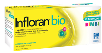 INFLORAN BIO BIMBI 14 FLACONCINI - La tua farmacia online