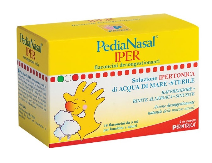 PEDIANASAL IPER SOLUZIONE IPERTONICA 18 FIALE DA 5 ML - Speedyfarma.it