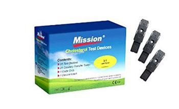 STRISCE TEST PER DISPOSITIVO MISSION 25 PEZZI - Farmapage.it