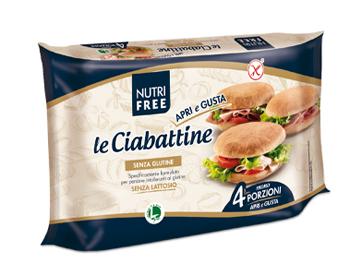 NUTRIFREE LE CIABATTINE 4 X 50 G - FARMAPRIME