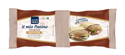 NUTRIFREE IL MIO PANINO INTEGRALE 2 X 90 G - FARMAEMPORIO