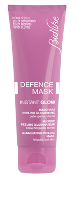 BIONIKE DEFENCE MASK INSTANT GLOW MASCHERA PEELING ILLUMINANTE 75 ML - Farmapage.it