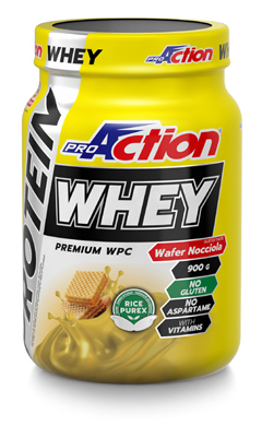 PROACTION WHEY RICH CHOCOLATE 900 G - Farmacia Giotti