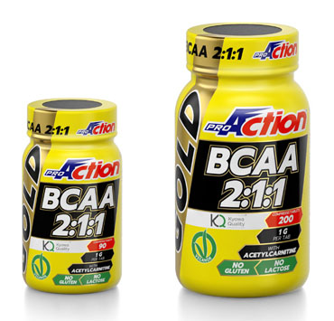 PROACTION BCAA GOLD 90 COMPRESSE - Farmacia Giotti