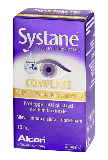SYSTANE COMPLETE COLLIRIO LUBRIFICANTE 10 ML- scadenza 03/20 - Farmacento