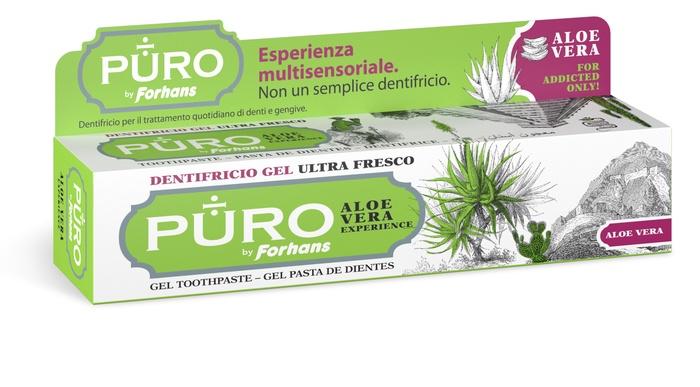 PURO DENTIFRICIO ALOE VERA 75 ML - Farmaseller