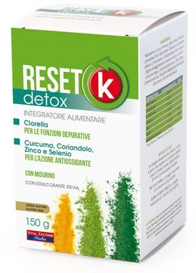 RESET K DETOX 150 G - Farmacia Centrale Dr. Monteleone Adriano