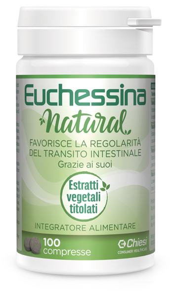 EUCHESSINA NATURAL 100 COMPRESSE - Farmabros.it