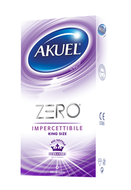 Profilattico Akuel Zero Impercettibile 6 Pezzi - Sempredisponibile.it