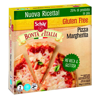 SCHAR SURGELATI PIZZA MARGHERITA BONTA' D'ITALIA 6 PEZZI 700 G offerta