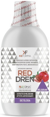 RED DREN ANTIOSSIDANTE 500 ML - Farmabros.it