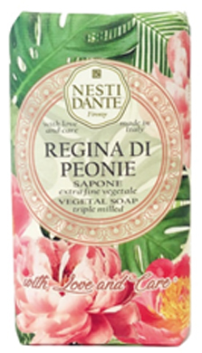 SAPONE WITH LOVE & CARE REGINA PEONIA 250 G - Farmafirst.it