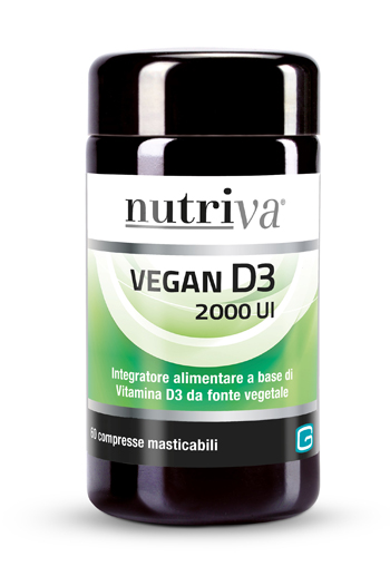 NUTRIVA VEGAN D3 60 COMPRESSE 2000 UI - Farmapage.it
